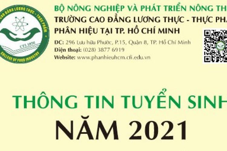 THÔNG BÁO TUYỂN SINH NĂM 2021